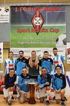 Siegermannschaft Albstadt 1