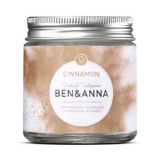 Ben&Anna Zahnpuder Cinnamon Zimt 45g