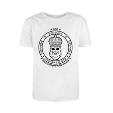 KNG BeardCare Logo T-Shirt weiss
