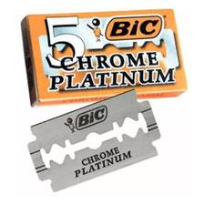 Rasierklingen BiC Chrome Platinum 5 Stück