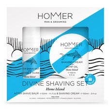 HOMMER Divine Shaving Set Home Island Geschenkverpackung