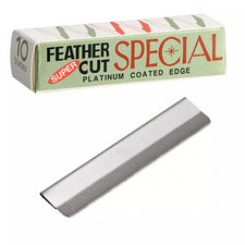 Feather Japan Super Cut Platinum Coated Edge Augenbrauenrasierer