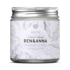 Ben&Anna Natürliche Zahnpasta White im Glas