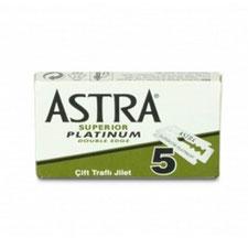 Rasierklingen AstrA Superior Platinum Double Edge Blades 5 Stück