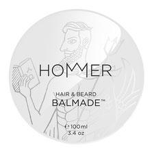 hommer balmade hair and beard