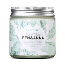 Ben und Anna Vegane Zahnpasta Sensitive