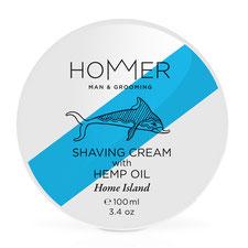 Hommer Men grooming shaving cream rasiercreme home island