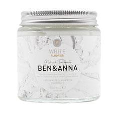 Ben&Anna natürliche Zahnpflege mit Fluorid white