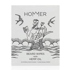 Hommer Beard Wipes Bart Reinigunstücher mit Hanf öl