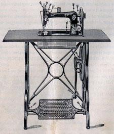 1899 Treadle -  DAVIS Model 8 VF Head