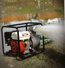 Motobomba de agua a gasolina
