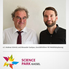 Science park Kassel Newsletter IKS Mobilitätsplanung