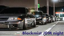 cinematic JDM meet blackmist