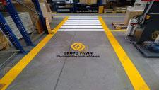 Señalización  de pasos de peatones