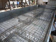 台東区 木造3階建て耐火建築物 基礎工事画像6