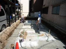 台東区 木造3階建て耐火建築物 基礎工事画像1
