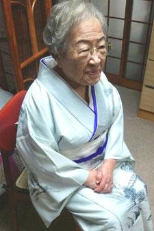 堺市へ着物の着付けとヘアセットで訪問