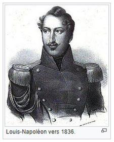 1836 Louis Napoleon erster Präsident der französischen Republik