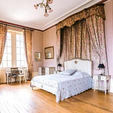 La suite Eugénie de Montijo au Château Belle Epoque dans les Landes 40