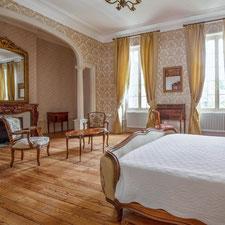 La suite Napoléon III au Château Belle Epoque dans les Landes 40