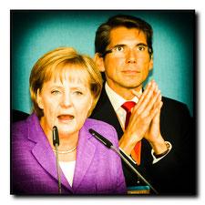 2009 CDU Wahlkampf in Frankfurt