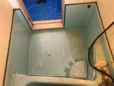 分譲マンションハーフユニットバス再生塗装