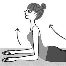 小学館『美的』体操 エクササイズイラスト モノクロイラスト
