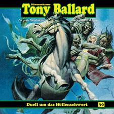 CD Cover Tony Ballard - Folge 39