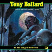 CD Cover Tony Ballard - Folge 36