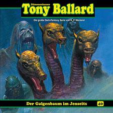 CD Cover Tony Ballard - Folge 40