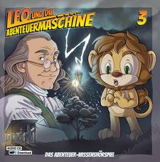 CD Cover Leo und die Abenteuermaschine 3