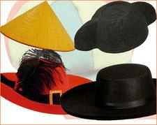 montera, sombrero, gorra de fiesta