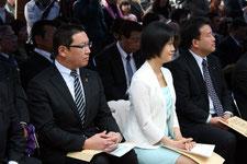 地元選出の県議も列席