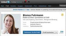 Bianca Fuhrmann bei LinkedIn
