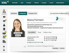 Bianca Fuhrmann bei XING