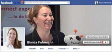 Bianca Fuhrmann bei Facebook