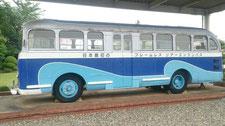 日本で最初のフレ-ムレスリアエンジンバス