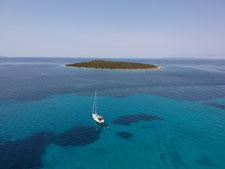 Segelboot Insel Kroatien