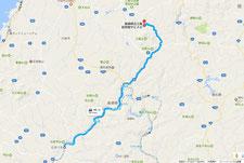 川本駅より三瓶自然館サヒメルまで