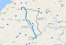川本駅より石見銀山まで