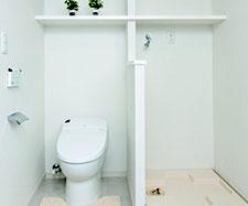 1住戸に2カ所のトイレ  ※Cタイプのみ