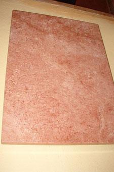 Heizplatte Premium Travertino Rojo