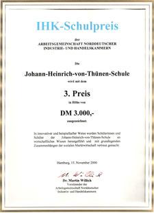 2000 Arbeitsgemeinschaft norddeutscher Industrie- und Handelskammern