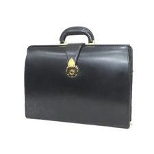 大峡製鞄 ブリティッシュ ブライドル レザー ダレス バッグ