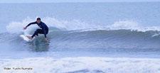 日本屈指のサーフポイントでサーフィン