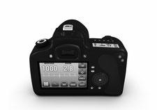 Digitalkamera, Spiegelreflex, Symbol für innovative Lösungen