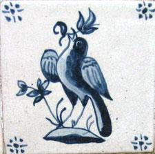 Art.-Nr.: AA-Vogel mit Blüte 022