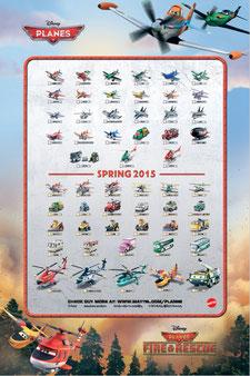 Planes 2015 Spring