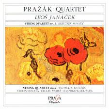 Pražák Quartetピアノ萱原(榊原)祐子ヤナーチェク 室内楽作品集