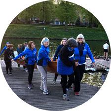 Rudern lernen in der Lübecker Frauen-Rudergesellschaft